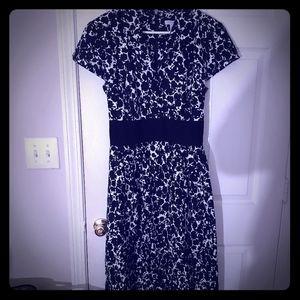 Black/white  multi dress